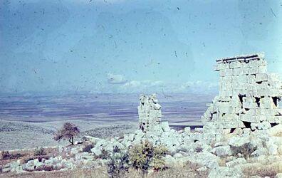Dia St. Simeion Ruine unterhalb Baptisterium