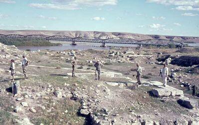 Dia Karkemisch Euphrat-Brücke