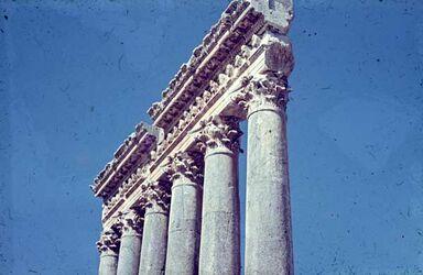 Dia Baalbek Die 6 Säulen
