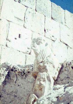 Dia Baalbek Südl. des Jupiter-Tempels ?