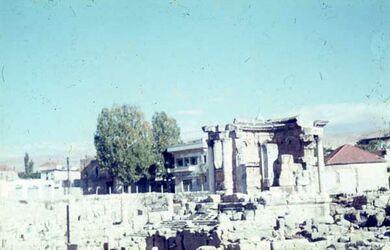Dia Baalbek Venus-Tempel