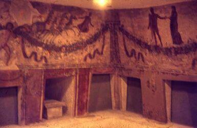 Dia Beirut Mus. Grabkam. v. Tyrus 2. Jh. n. Chr.