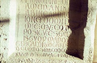 Dia Beirut Mus. Kreuzf. Inschrift 1203 Tyrus ?