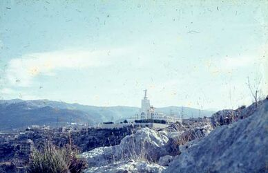 Dia [Nahr el-Kelb] Am Hundefluß Höhe [Blick zur] Christus-St.