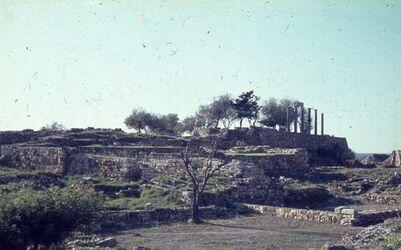 Dia Byblos römische Säulen