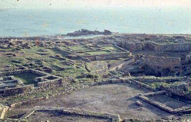 Dia Byblos Ausgrabungen im S.