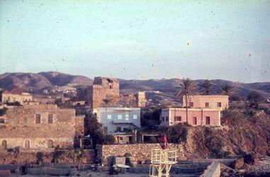Dia Byblos Hafen [Blick zur] Burg