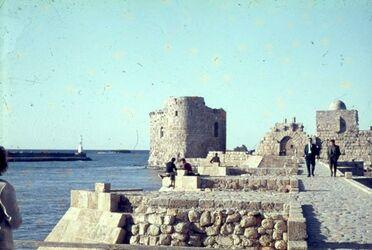 Dia Sidon [wohl Schloß am Meer]