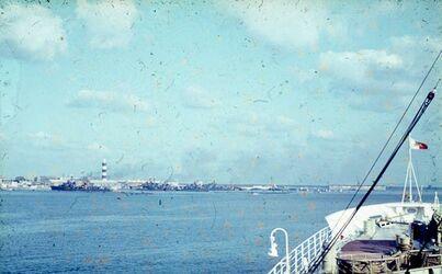 Dia Alexandria W-Hafen [Blick nach] N. W. zu W.