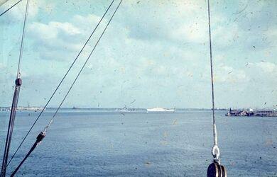 Dia Alexandria W-Hafen [Blick nach] W. N. W.