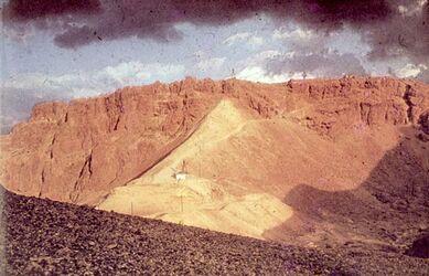 Dia [Masada, es-sebbe] Rampe vor Sturm