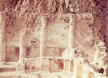 Dia [Masada, es-sebbe] Unt. Terrasse S.-Teil
