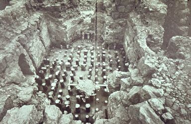 Dia [Masada, es-sebbe] Thermen Caldarium […?]