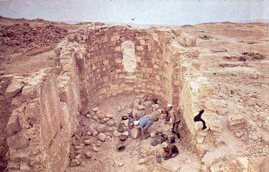Dia [Masada, es-sebbe] Byzant. Kapelle