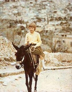 Dia [aus dem Buch: Sven Gillsäter u. a., Helgas Reise ins Heilige Land, 1965] Nazareth