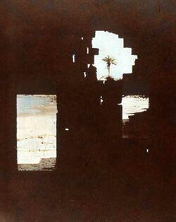 Dia [aus dem Buch: Sven Gillsäter u. a., Helgas Reise ins Heilige Land, 1965] Meer b. Cäsarea (Ruinen)
