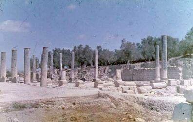 Dia Samaria [sebastie] Forum u. Basilika