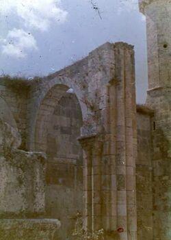 Dia Samaria [sebastie] Kirche d. Auffdg. [?] d. Hpt. J. d. Tf. 12. Jhd.