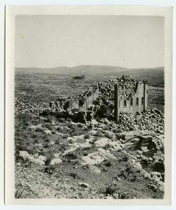 GDIp03698; Fotografie; Südtempel [Gerasa], in Bestand von rund 5.000 nach Themen und Orten sortierten Kleinbildabzügen