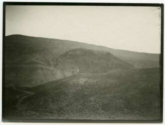 Fotografie wadi ehsa [wadi el-ehsa] südl. Aufstieg