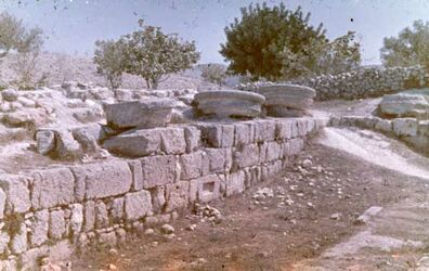 Dia Samaria [sebastie] Auf der Akropolis