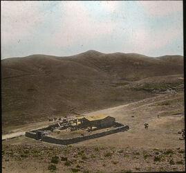 Glasplattendia Chan el ahmar, Wüste Juda