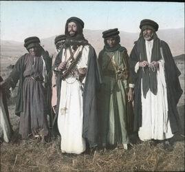 Glasplattendia Beduinengruppe, Ostjordanland