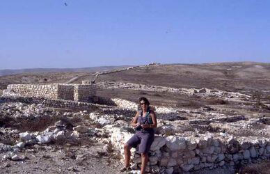 Dia Babette in Arad [Israel-Exkursion]