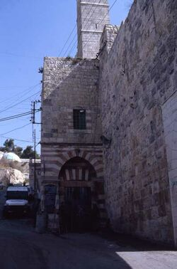 Dia Hebron - Eingang zur Haram el-Khalil [Israel-Exkursion]