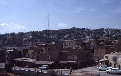 Dia Blick auf Hebron [Israel-Exkursion]