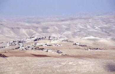 Dia Blick vom Herodeion [Herodium, Israel-Exkursion]