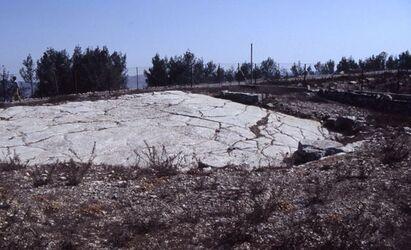 Dia Heiliger Fels der Samaritaner auf dem Garizim [Israel-Exkursion]