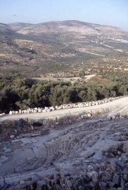 Dia Theater in Samaria [Sebastie, Israel-Exkursion]