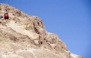 Dia Gondelfahrt nach Massada [es-sebbe, Israel-Exkursion]