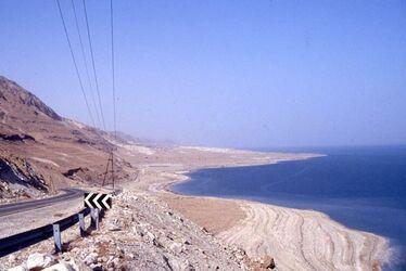 Dia Ufer des Toten Meeres zwischen Massada und En Gedi [es-sebbe, Israel-Exkursion]