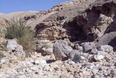 Dia Wadi Quelt [Wadi Kelt, Israel-Exkursion]