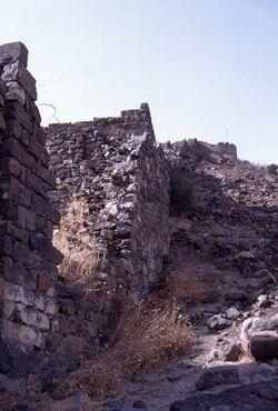 Dia Bresche in der Stadtmauer [Israel-Exkursion]