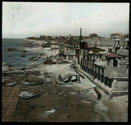 Glasplattendia [Hafen in Palästina, Ort unbekannt]