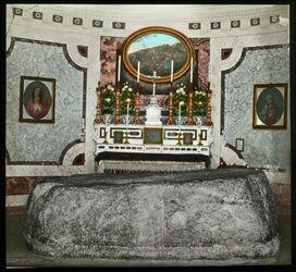 Glasplattendia Tisch Christi (Mensa Christi) Nazareth