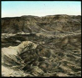 Glasplattendia Judäische Wüste westl. v. Toten Meer