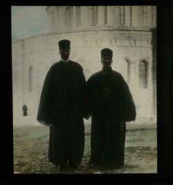 Glasplattendia Abessynische Mönche