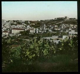 Glasplattendia Nazareth von S.