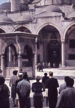 Dia Konstantinopel. Blaue Moschee [Istanbul]