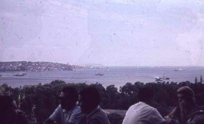 Dia Konstantinopel. Bl. Auf Bosporus [Istanbul]