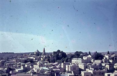 Dia Vom T. Erlöserkirche auf Dormitio [Jerusalem]