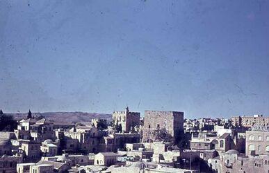 Dia V. T. Erlöserkirche auf Jaffa-Tor [Jerusalem]