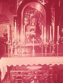 Dia Trauernde Maria. Virgin Mary of Sorrow [Jerusalem]
