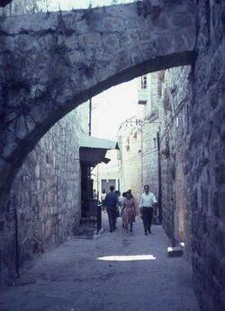 Dia Gasse in Altstadt [Jerusalem]