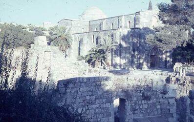 Dia Jerusalem vom Kreuzf.-K b. Armen.-K.