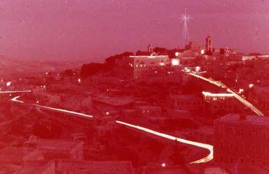 Dia Bethlehem bei Nacht